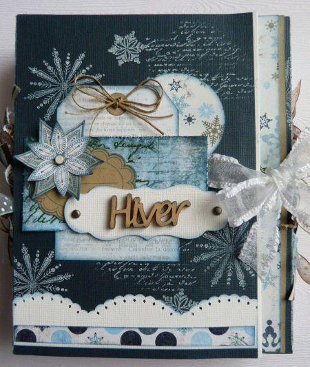 mini hiver mini album pinterest scrap album and scrapbooking. Black Bedroom Furniture Sets. Home Design Ideas