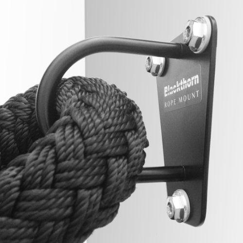 Regalamelo.es | Blackthorn Rope Mount - Soporte de pared para entrenamiento con cuerda (25 x 17 x 10 cm)
