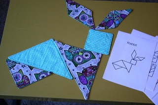 Fabric Tangrams