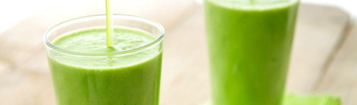 Groene smoothie met paprika & nectarine