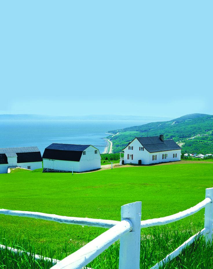 Saint-Irénée @L a Farme / Anne Gordon #charlevoix http://www.tourisme-charlevoix.com/