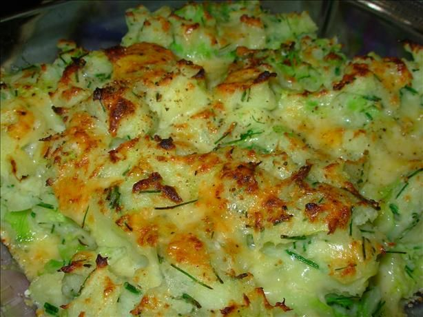 Retro Chic Comfort Food, The Grand National & Rumbledethumps – Scottish Potato, Cabbage & Cheese Gratin with Chives