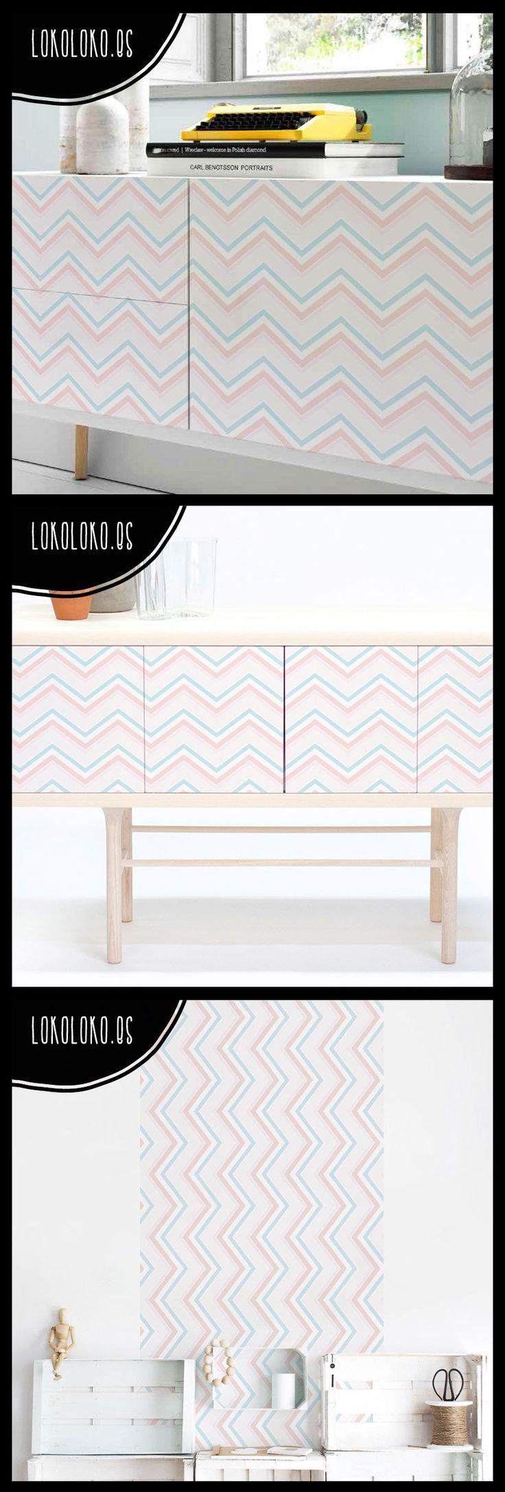 Renueva tus muebles de salón #vinilosgeometricos #lokolokodecora