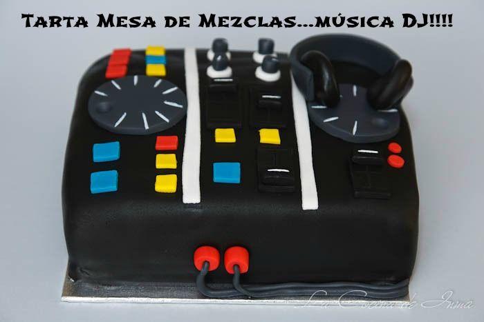 M s de 1000 ideas sobre torta de guitarra en pinterest for Media markt mesa de mezclas