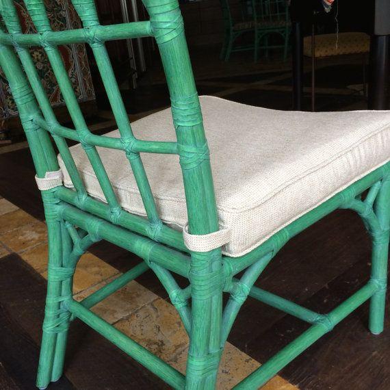 Chair Seat Cushion Cover with tabs Custom 22 x 185 x 19 x 3