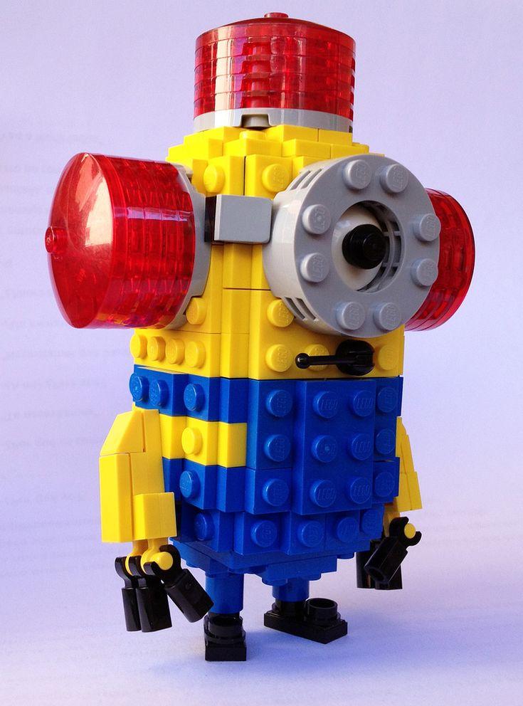 """A Lego Despicable Me Minion """"BEE-DO. BEE-DO."""""""