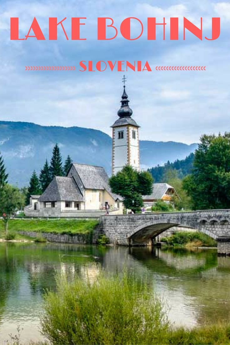 Lake Bohinj in Slovenia: A Great Alternative to Lake Bled.  Bonus: less tourists ;)