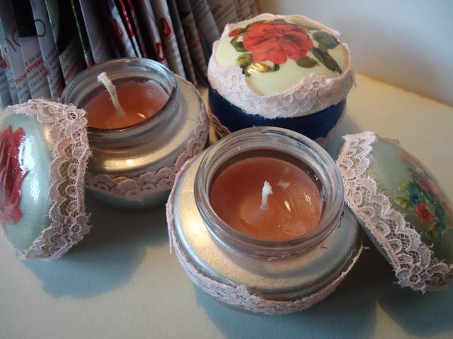 Oltre 25 idee originali per candele fatte in casa su - Candele di cera fatte in casa ...