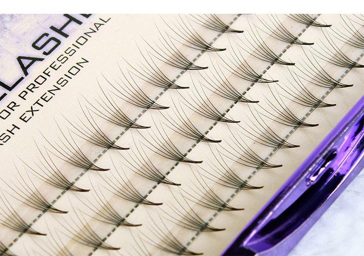 6D Natrual faux mink hair silk lashes eyelash extensions false mink eyelash extensions fake lashes 0.07 thickness single hair