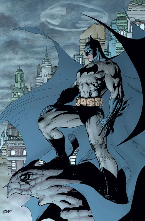 Batman.  Ever since I was little I have been in love with Batman.  No one has yet to live up to him.