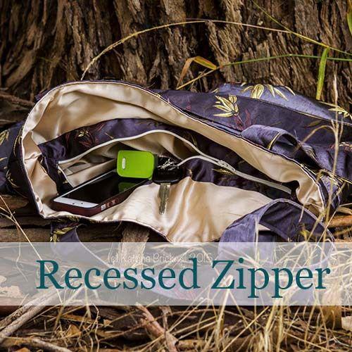 recessed zipper tutorial