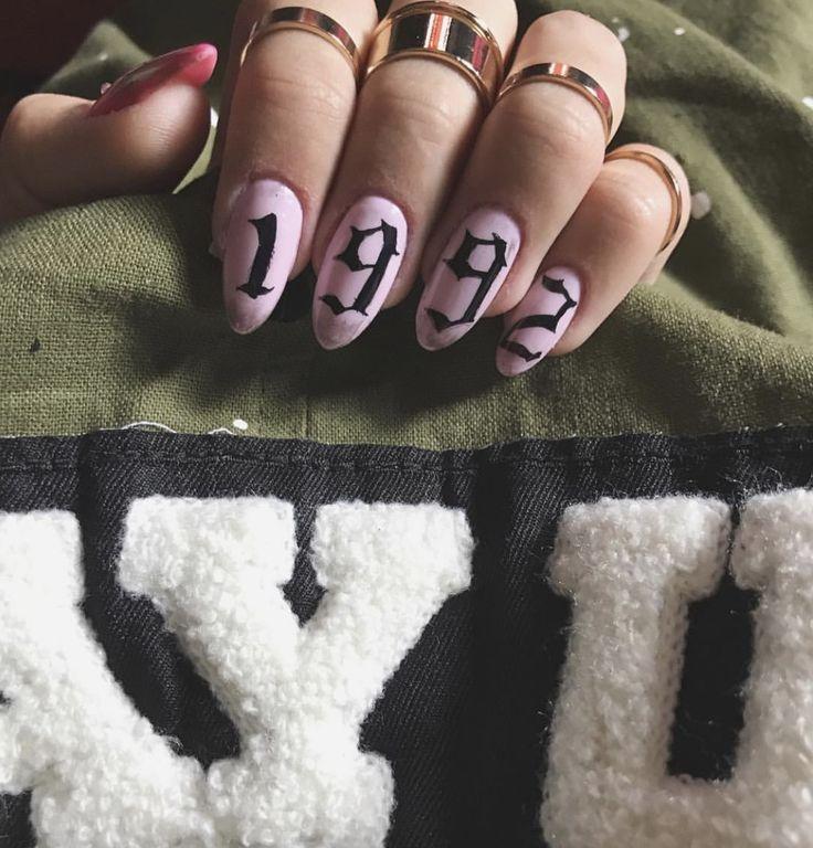 Nails art 1992