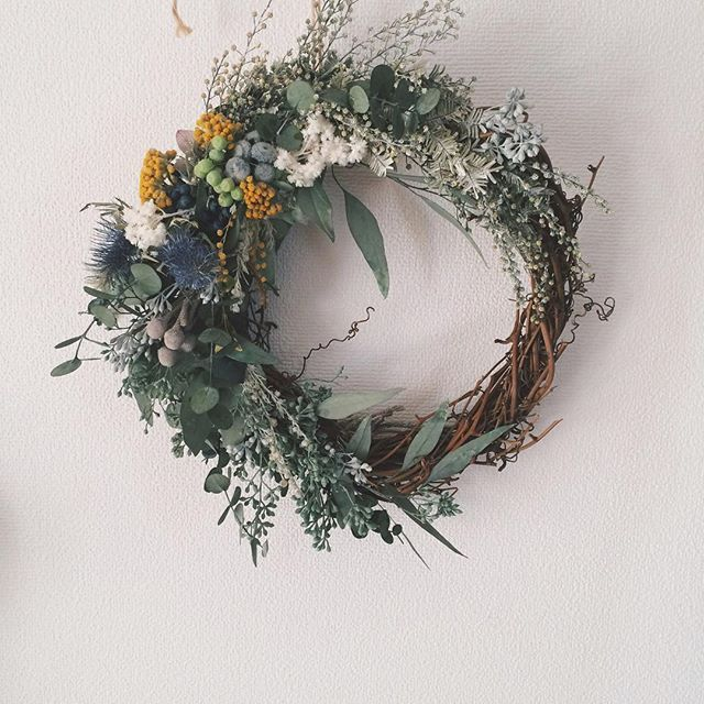 raque_rie on Instagram pinned by myThings #wreath #RaQue #flowers #green #gift…