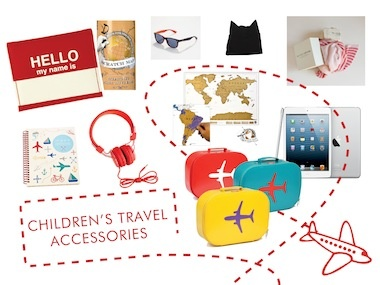 My article on stylish travel must-haves for mini jetsetters