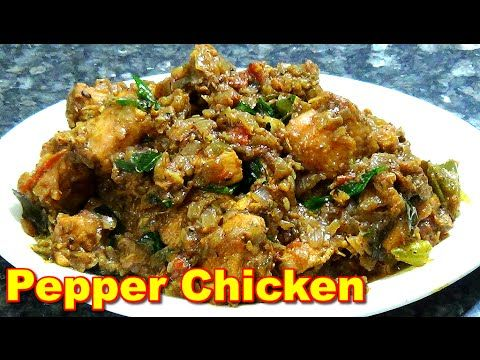 10 best vegetarian indian recipes images on pinterest indian pepper chicken fry recipe in tamil youtube forumfinder Gallery
