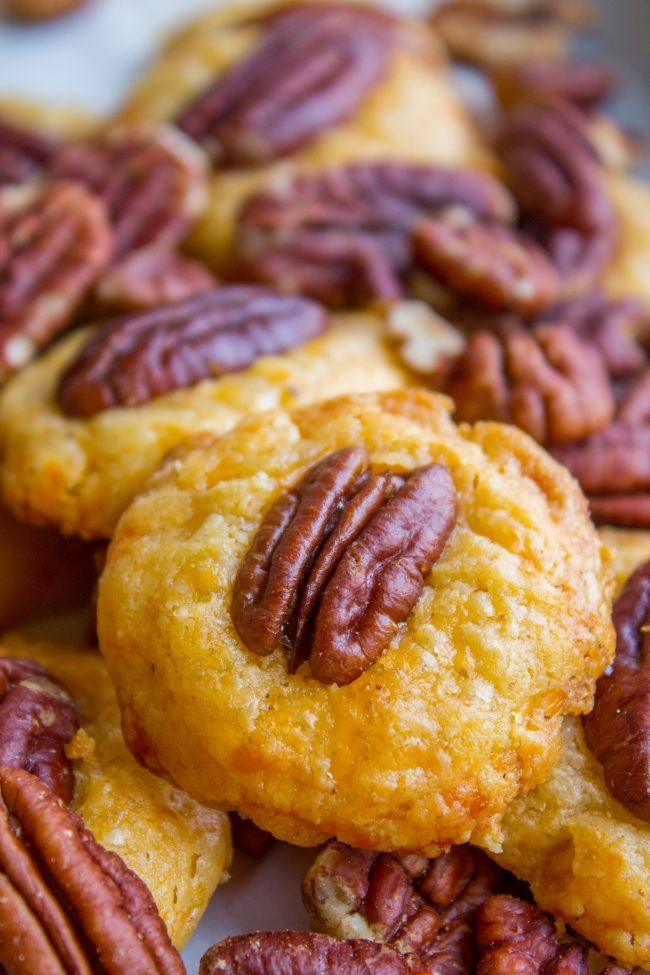 Southern Pecan Cheese Wafers (Perfect Holiday Appetizer) from The Food Charlatan…