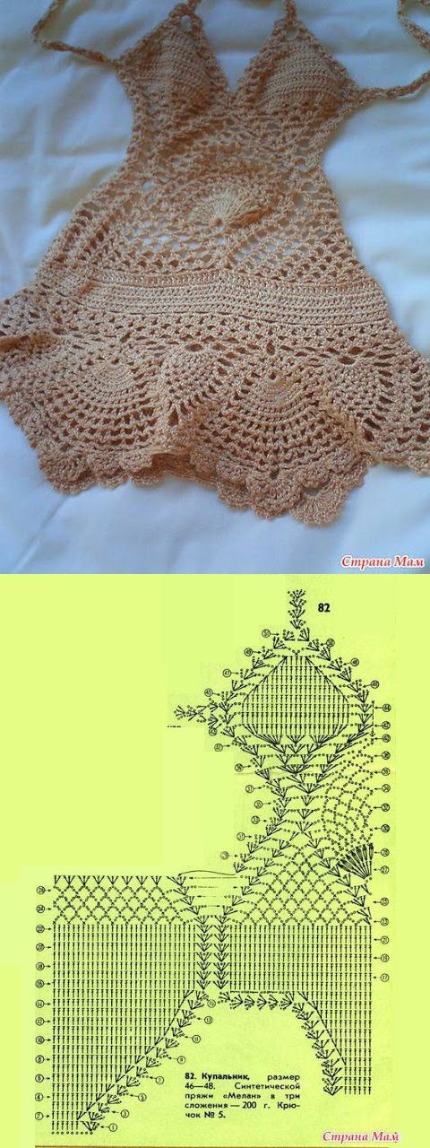 Crochet Swim Suits and Cover Ups 2011