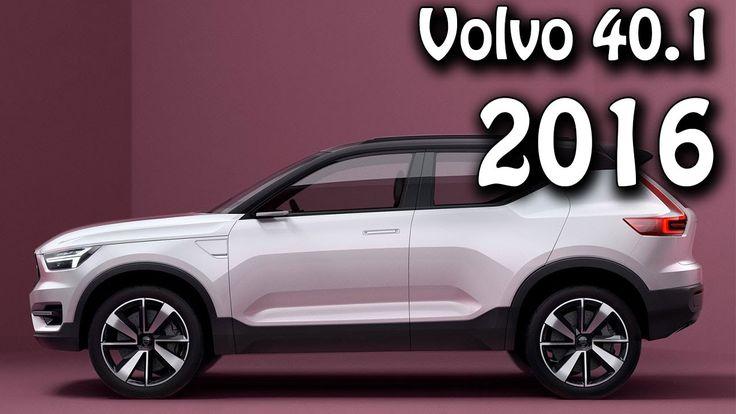 2016 Volvo 40.1 Concept New Compact Modular Architecture