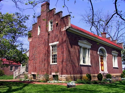 Carter House in Franklin tennessee .. Carter House was caught in the middle of one of the Civil Wars bloodiest battles on 11/30/1864.