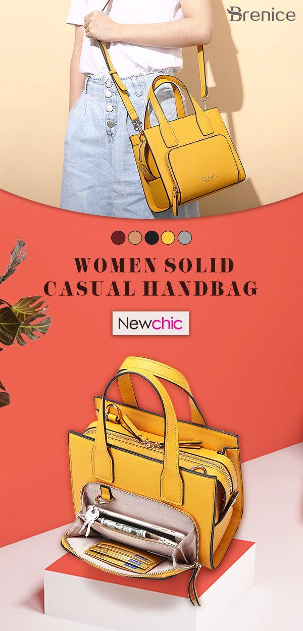 Shoulder Handbag Women Mandy Bag Solid Shopping Casual Square Ybv76Igyf