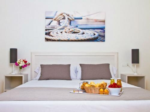 Habitación doble en uno de los #apartamentos del Pierre & Vacances Mojacar Playa.