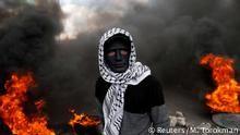 Westjordanland Proteste nach Freitagsgebet (Reuters/M. Torokman)