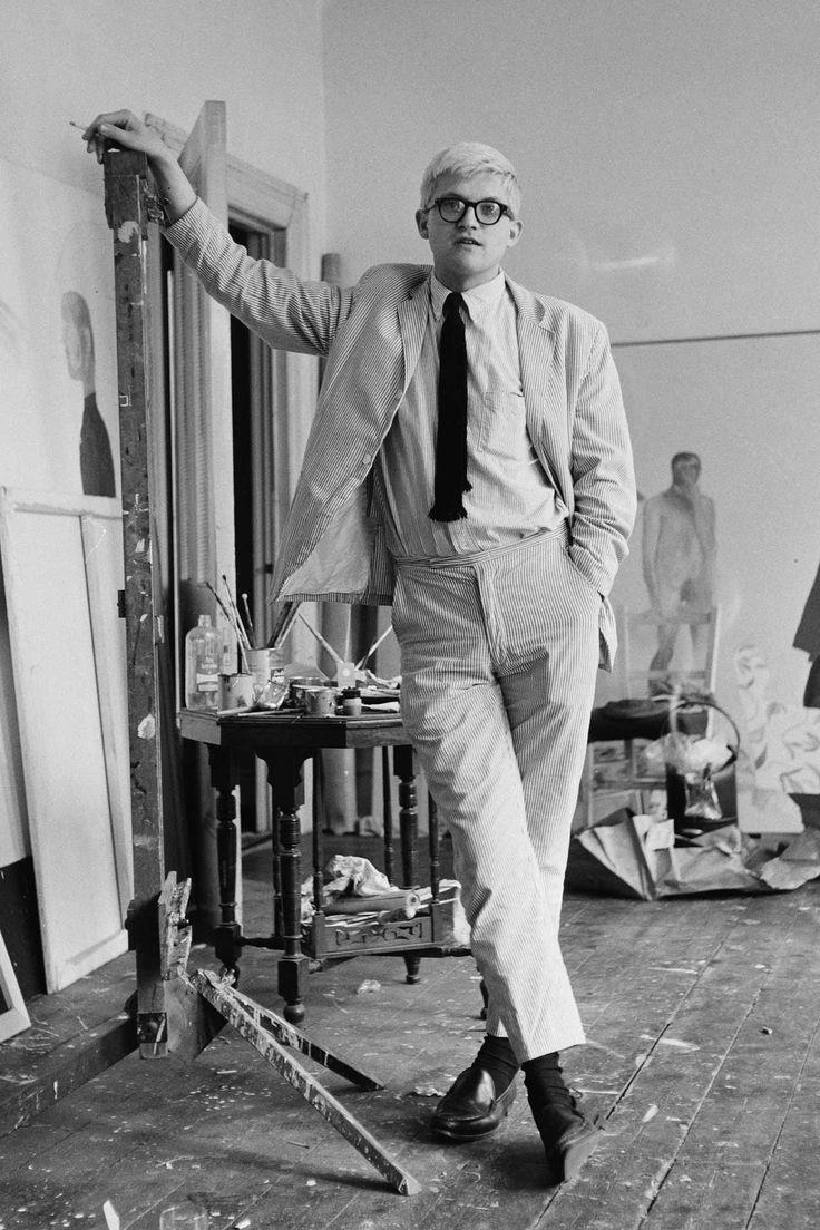 David Hockney Most Stylish Men Of The 1960s 16fw Pinterest