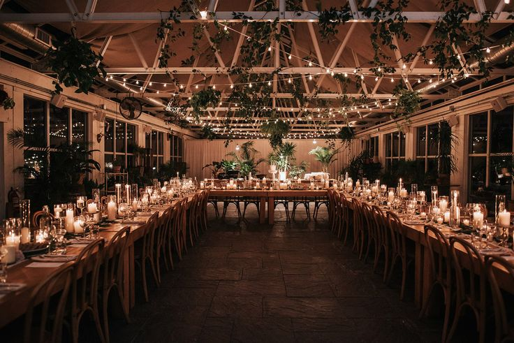A Candlelit Winter Wedding at a Cozy Greenhouse in Upstate