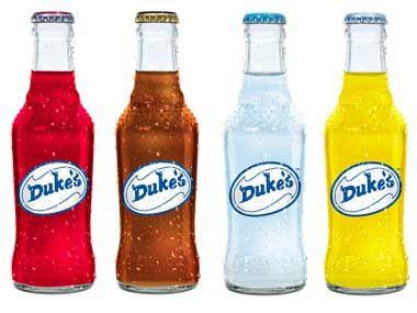 Duke's Raspberry soda