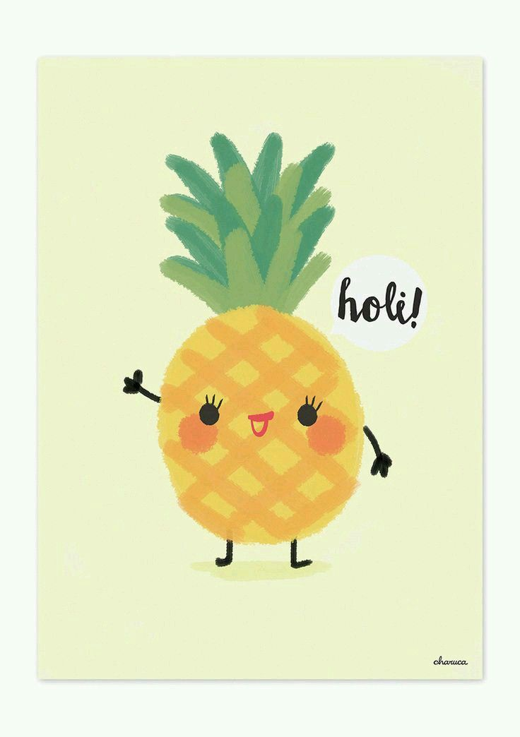 Anana/Pineapple KAWAII