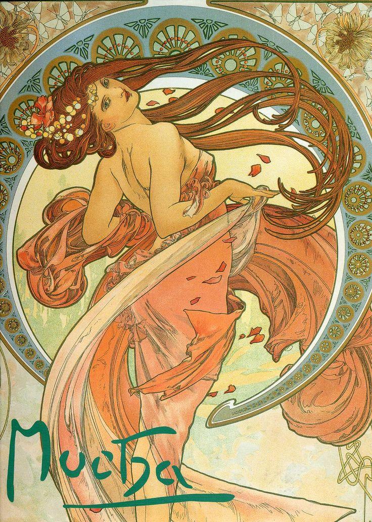 My favorite Mucha - Art Nouveau