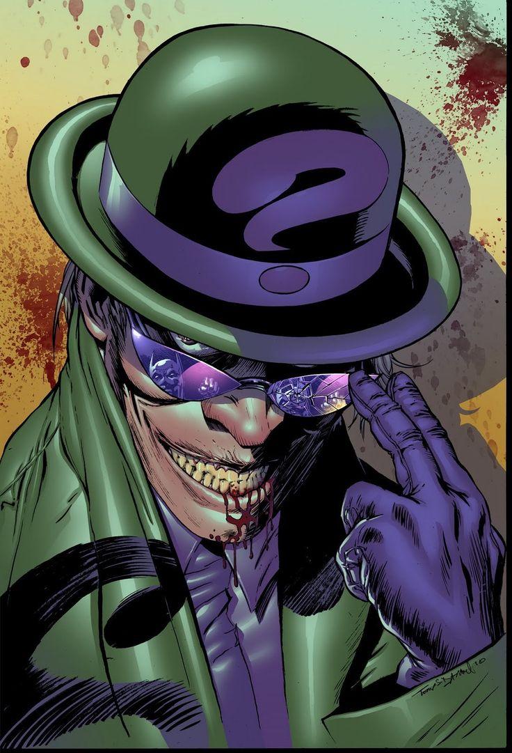 Картинки бэтмен загадочник