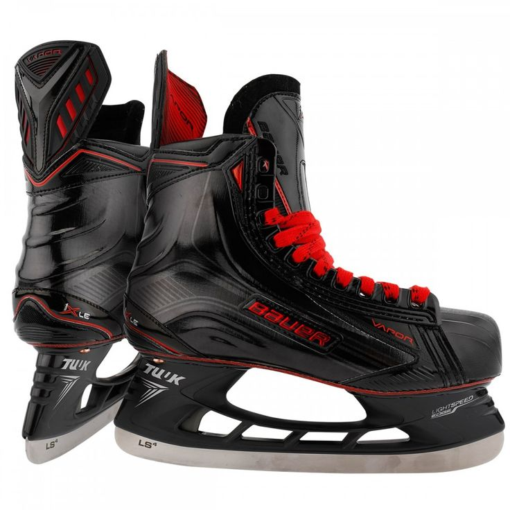 Bauer Vapor 1X LE Black Sr. Ice Hockey Skates size 10 EE