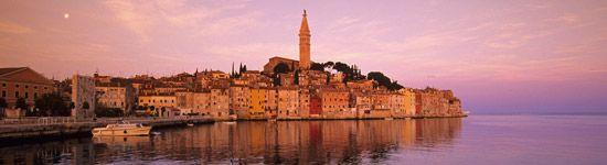 Urlaub in Rovinj, Kroatien