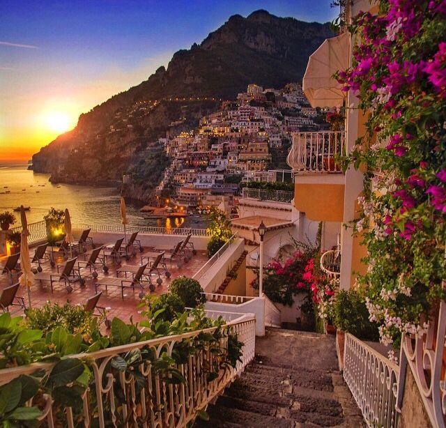 Positano, na Itália.                                                       …