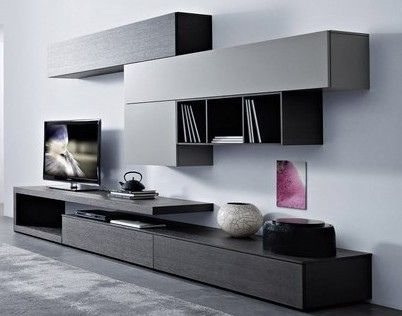 Image result for mueble para tv y escritorio en dormitorio