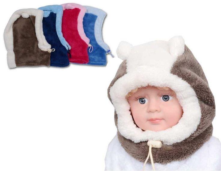 Nádherná dětská zimní kuklička.