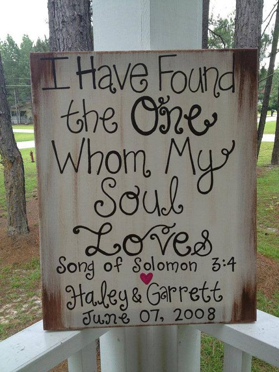Rustic Wedding Sign Decoration by jgcreationsbyjg on Etsy, $25.00 (would be super easy to make though)