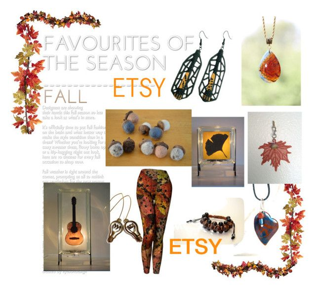 Fall Favorites on Etsy by glowblocks on Polyvore featuring Shamballa Jewels and Improvements
