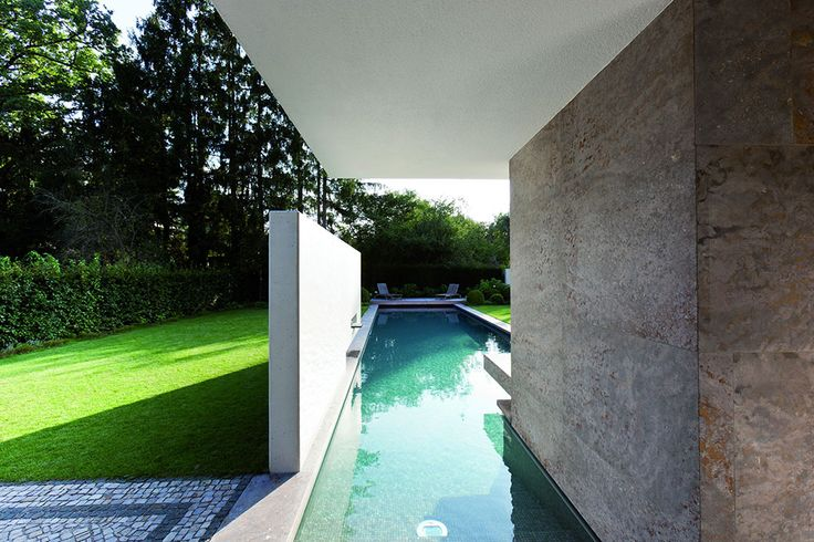 House I Stunning Bauhaus Style House By Stephan Maria Lang In Munich
