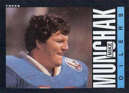 1985 munchak | 1985 Topps Mike Munchak #253 (Hall of Fame)