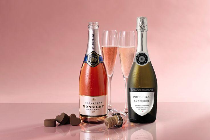 A chilled glass of Champagne #AldiWishList