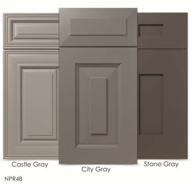 Light Gray Kitchen Cabinets Cabinet Makers Association WalzCraft