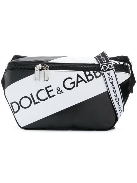 10d19275d1 DOLCE   GABBANA logo panel belt bag.  dolcegabbana  bags  leather  belt bags   cotton