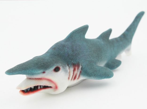 Goblin Shark 3d printed by @NinjaRAWLegend
