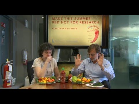 Ian Lipkin and Mady Hornig take the #ChiliMEChallenge - YouTube More info/ donate here: http://www.mailman.columbia.edu/chiliME