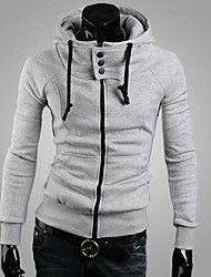 Manwan walk®men's hoge kraag slanke hoodie – EUR € 18.41