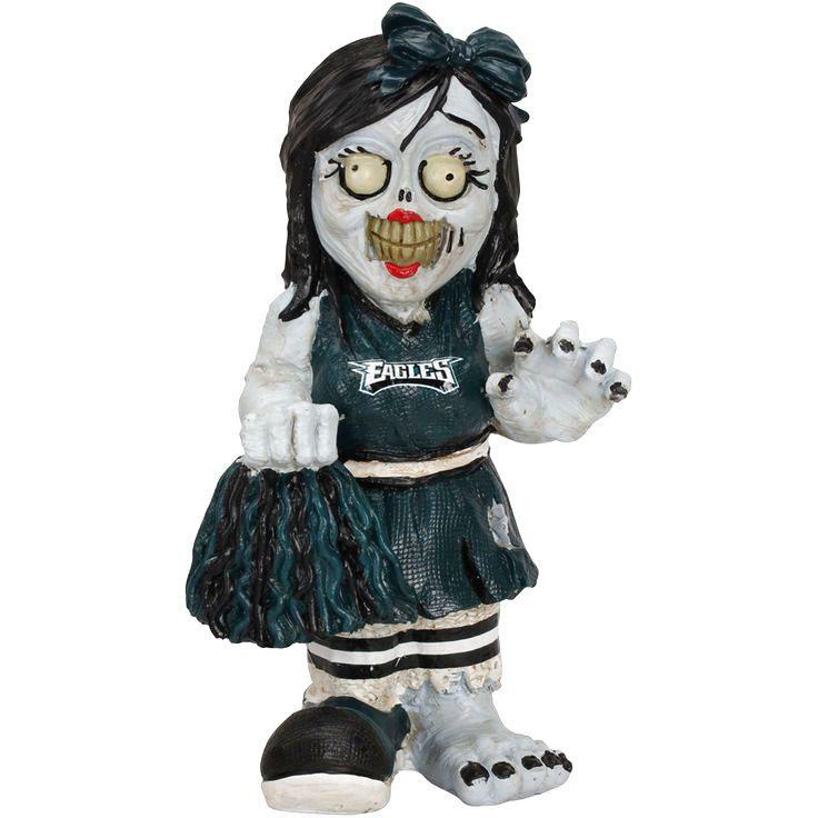 Philadelphia Eagles Cheerleader Zombie Figurine - $9.49