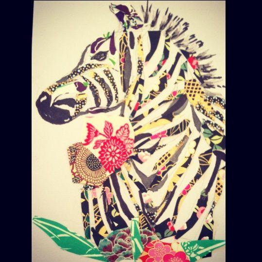 Patchwork Zebra xx