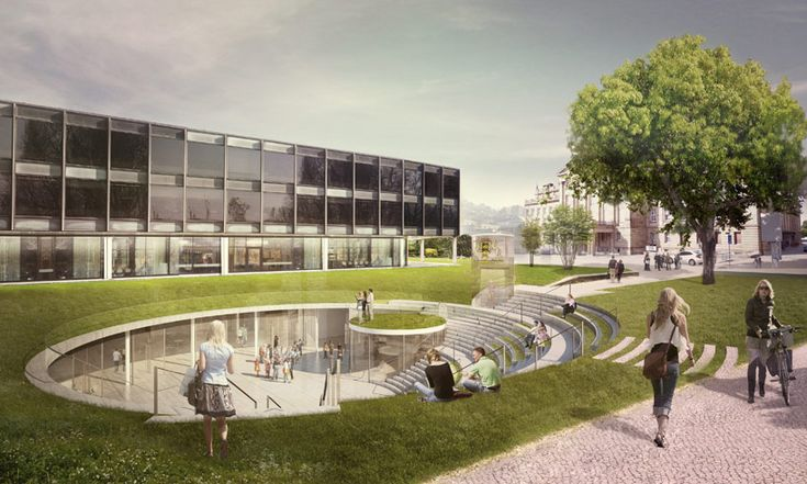henning larsen will design parliament media center in stuttgart